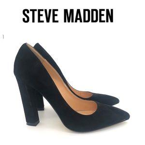 Steve Madden Suede Leather Pumps